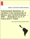Summerland Sketches Or Rambles In The Backwoods Of Mexico And Central America  With  Illustrations By H F Farny And H Faber