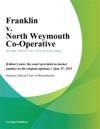 Franklin V North Weymouth Co-Operative