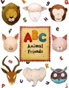 ABC Animal Friends  Alphabet Book For Kids