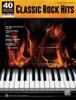 40 Sheet Music Bestsellers: Classic Rock Hits