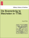 De Boerenkrijg Te Mechelen In 1798