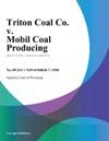 Triton Coal Co V Mobil Coal Producing