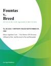 Fountas V Breed