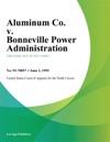 Aluminum Co V Bonneville Power Administration