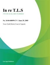 In Re T.L.S.