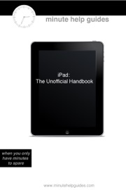 iPad - Minute Help Guides