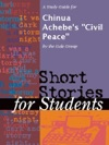A Study Guide For Chinua Achebes Civil Peace