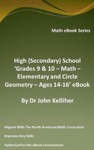 High Secondary School Grades 9  10 - Math  Elementary And Circle Geometry  Ages 14-16 EBook