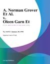A Norman Grover Et Al V Oleen Garn Et