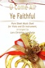 O Come All Ye Faithful Pure Sheet Music Duet For Viola And Eb Instrument
