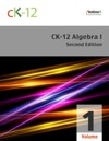 CK-12 Algebra I - Second Edition Volume 1 Of 2