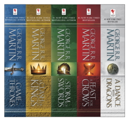 The A Song of Ice and Fire Series book