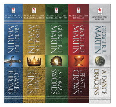 The A Song of Ice and Fire Series - George R.R. Martin book