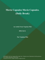 Download and Read Online Movie Capsules Movie Capsules (Daily Break)