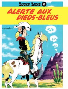 Lucky Luke - Tome 10 - ALERTE AUX PIEDS BLEUS Couverture de livre