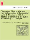 Chronicles Of Border Warfare New Edition Edited And Annotated By R G Thwaites  With The Addition Of A Memoir Of The Author And Notes By L C Draper