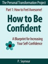 How To Be Confident A Blueprint For Increasing Your Self-Confidence The Personal Transformation Project Part 1 How To Feel Awesome 4