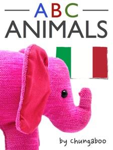 Italian Animal Alphabet (Enhanced Edition) da Mya Schaefer
