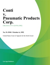 Download and Read Online Conti V. Pneumatic Products Corp.