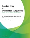 031297 Louise Hoy V Dominick Angelone