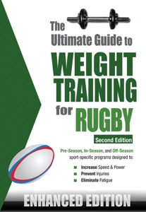 The Ultimate Guide to Weight Training for Rugby (Enhanced Edition) Book Cover