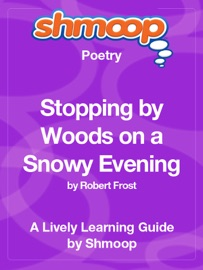 STOPPING BY WOODS ON A SNOWY EVENING: SHMOOP LEARNING GUIDE