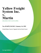 Download and Read Online Yellow Freight System Inc. V. Martin