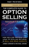 The Complete Guide To Option Selling Second Edition Chapter 1 - Why Sell Options