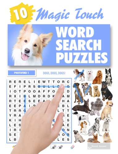 Magic Touch - Dogs Wordsearch Puzzles - Lovatts Crosswords & Puzzles - Lovatts Crosswords & Puzzles