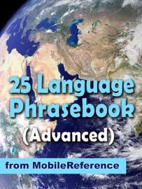Advanced 25 Language Phrasebook