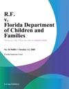 RF V Florida Department Of Children And Families