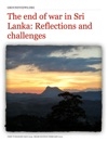 The End Of War In Sri Lanka Reflections And Challenges