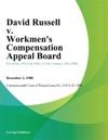 David Russell V Workmens Compensation Appeal Board Volkswagen America