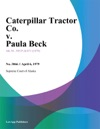 Caterpillar Tractor Co V Paula Beck
