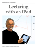 Perry Samson - Lecturing with an iPad artwork