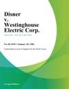 Disner V Westinghouse Electric Corp