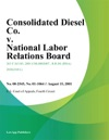 Consolidated Diesel Co V National Labor Relations Board