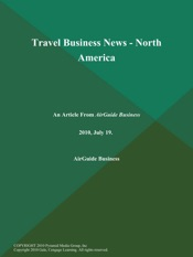 Download Travel Business News - North America