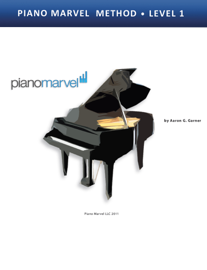 Piano Marvel Method Book 1 book