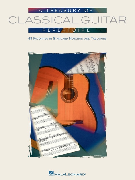 A Treasury of Classical Guitar Repertoire (Songbook) by Various ...