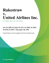 Rakestraw V United Airlines Inc