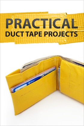 Practical Duct Tape Projects book cover