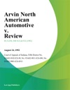 Arvin North American Automotive V Review