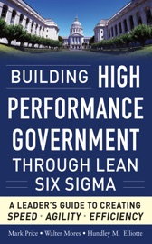 Building High Performance Government Through Lean Six Sigma A Leader S Guide To Creating Speed Agility And Efficiency