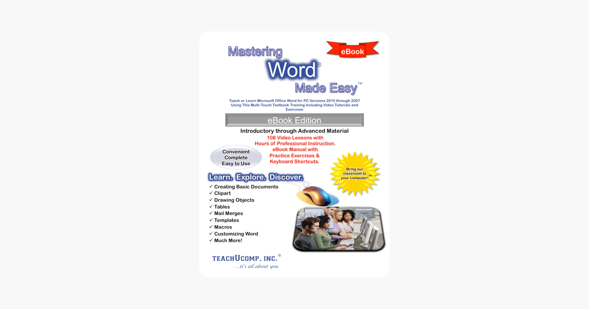 ‎Mastering Word Made Easy