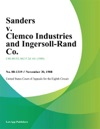 Sanders V Clemco Industries And Ingersoll-Rand Co