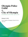 Olympia Police Guild V City Of Olympia