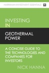 An Investors Guide To Geothermal Power