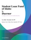 Student Loan Fund Of Idaho V Duerner