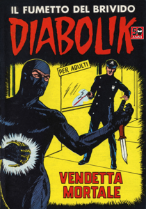 DIABOLIK #27 Libro Cover